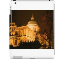 St Pauls's London at night iPad Case/Skin