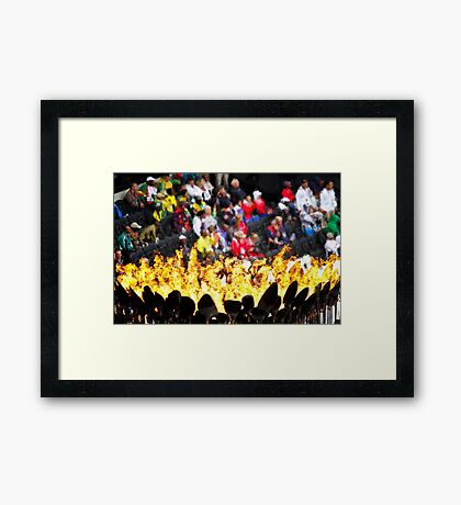 Olympic Fire – London Olympics Framed Print
