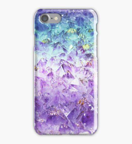 Alexandrite crystal rough cut iPhone Case/Skin