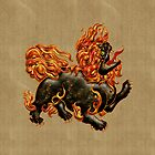 Chinese Dragon Dog, tote, pillow,  case  by LoneAngel