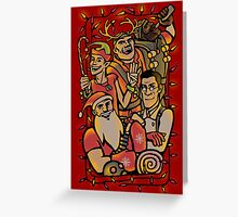 Christmas in Team Fortress 2 Greeting Card