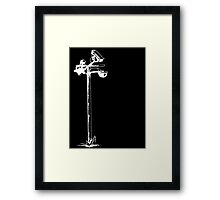 CCTV Smile! Framed Print