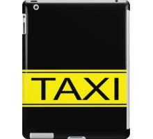Taxi sign iPad Case/Skin