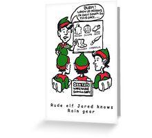 Rude ELF Jarred Greeting Card