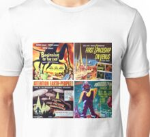 Sci-Fi Movie Poster Art Collection #3 Unisex T-Shirt