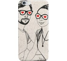 Love Glasses <3 iPhone Case/Skin