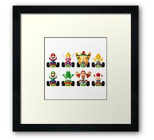 Racers Framed Print