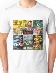 Sci-Fi Movie Poster Art Collection #1 Unisex T-Shirt