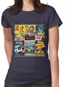 Sci-Fi Movie Poster Art Collection #1 Womens Fitted T-Shirt