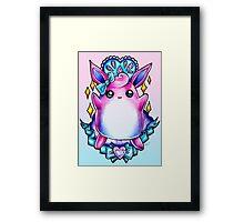 Wigglytuff Framed Print