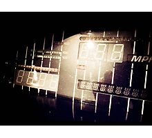 My Knight Rider Dashboard Retro Styled Photos 05 Photographic Print