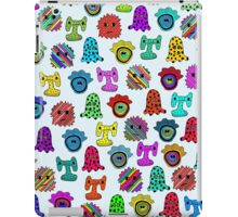 pattern with monsters iPad Case/Skin