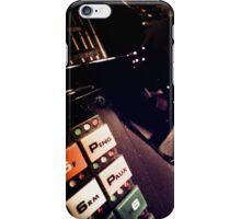 Retro Styled Photos Of My Knight Rider Dash 07 iPhone Case/Skin