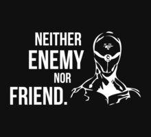 Neither Enemy Nor Friend - Gray Fox - Metal Gear Solid by Sandy W