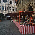 Lübeck - Marktplatz by NordicBlackbird