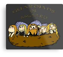 Chibi Amon Amarth: Guardians of Asgaard Metal Print