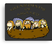 Chibi Amon Amarth: Guardians of Asgaard Canvas Print