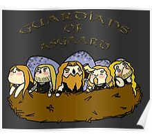 Chibi Amon Amarth: Guardians of Asgaard Poster