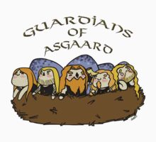 Chibi Amon Amarth: Guardians of Asgaard Kids Tee