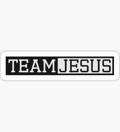 button text schriftzug kreuz symbol team crew freunde jesus christus cool logo design  Sticker