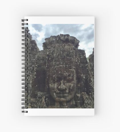Cambodia - Angkor Thom - wild clouds Spiral Notebook