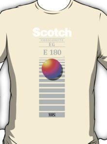 """Re-record, not fade away"" - Scotch VHS T-Shirt"