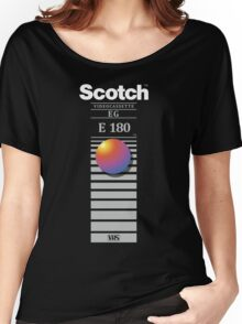 """Re-record, not fade away"" - Scotch VHS Women's Relaxed Fit T-Shirt"