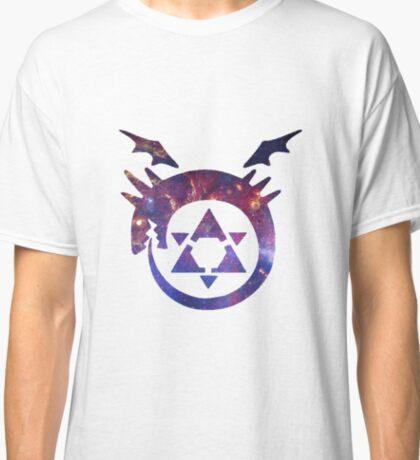 FMA Galaxy The Ouroboros Homunculi Classic T-Shirt