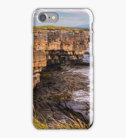 Sea Caves at Muckross - County Donegal, Ireland iPhone Case/Skin