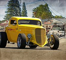 1934 Ford 'HiBoy' Coupe by DaveKoontz