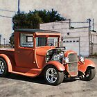 1929 Ford Model A Pick-Up  by DaveKoontz