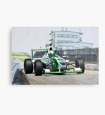 Formula Atlantic Race Car V Metal Print