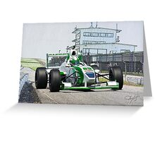 Formula Atlantic Race Car V Greeting Card