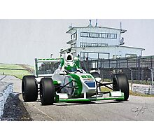 Formula Atlantic Race Car V Photographic Print