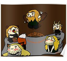 Chibi Amon Amarth: The Shapeshifter Poster