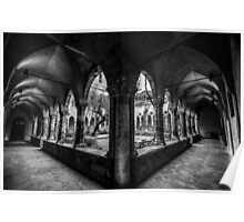 Cloisters Here, Cloisters There, Cloisters Everywhere Poster