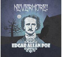 Edgar Allan Poe, Nevermore by TICS