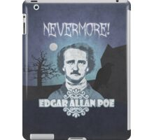 Edgar Allan Poe, Nevermore iPad Case/Skin