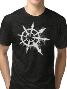 Tag of Chaos (white) Tri-blend T-Shirt