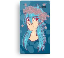 Flower Aoba w/ background  Canvas Print