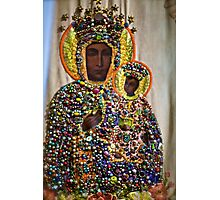 The Black Madonna of Czestochowa. Queen of Poland. Views: 5401 .Has been SOLD ! Promotor Fidei. Photographic Print