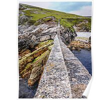 An Port Stairs - County Donegal, Ireland Poster