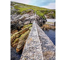 An Port Stairs - County Donegal, Ireland Photographic Print