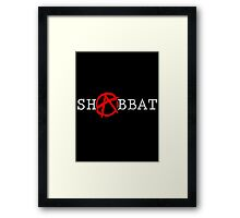 ANARCHY!-Well, not on Shabbos. Framed Print