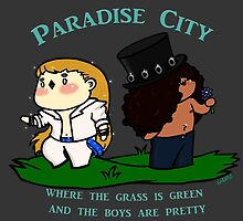 Chibi Guns'n'roses: Paradise city by Lindis