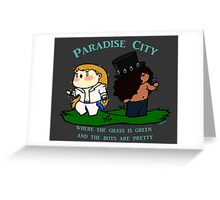 Chibi Guns'n'roses: Paradise city Greeting Card