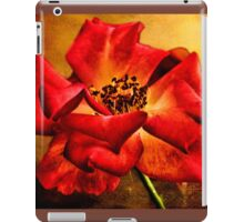 Scarlet Flower iPad Case/Skin