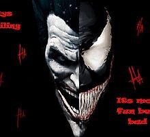 smiling mix (joker venom)  by bridger94