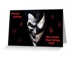 smiling mix (joker venom)  Greeting Card
