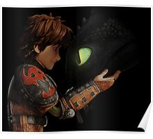 Hiccup & Toothless - Dragon Trainer Poster